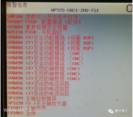 FANUC 31iB 轴卡 A20B-3300-081维修