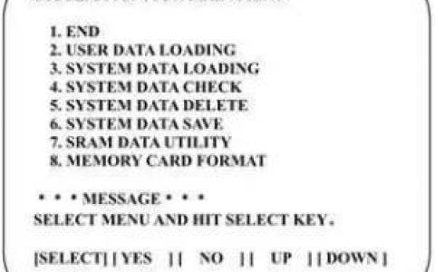破解FANUC数控系统宏程序密码
