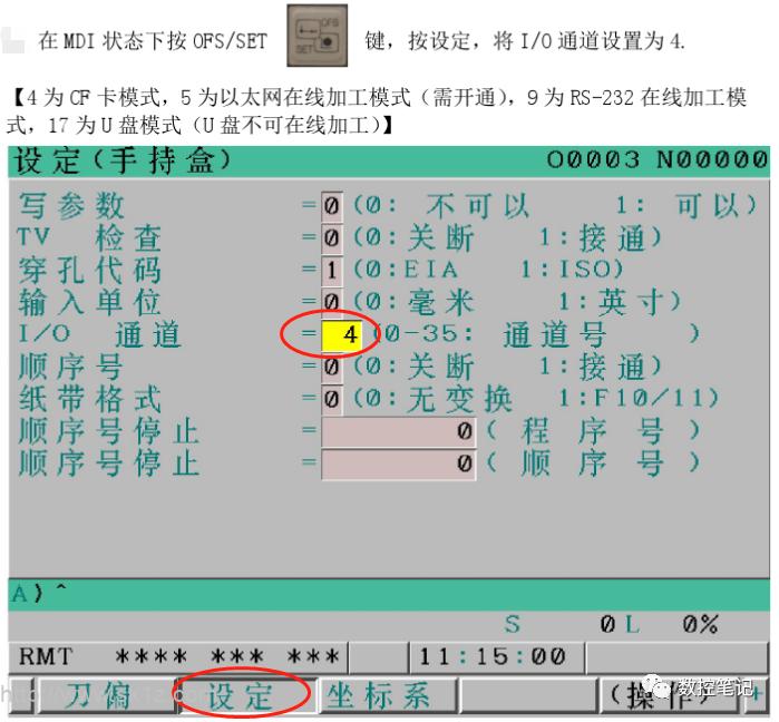 cf卡bug按键方法_FANUC 0i-D系列CF卡在线加工方法 | 数控驿站