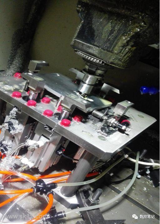 CNC撞机视频及图片收集,最后一张图片亮了~