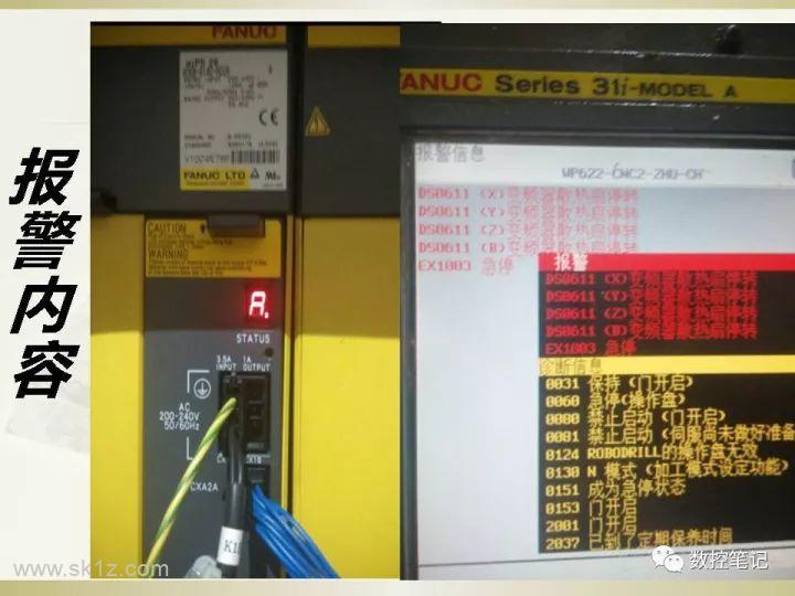FANUC各散热风扇型号及报警信息汇总