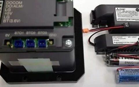 三菱CNC电池功能及维护说明